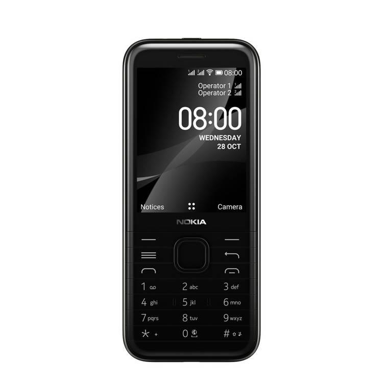 Nokia 8000 4G Dual Sim Czarna