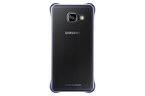 Samsung Etui Clear Cover Czarne do Galaxy A3 (2016) EF-QA310CBEGWW
