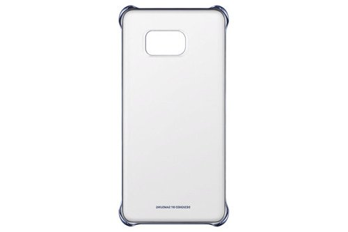 Samsung Etui Clear Cover Czarne do Galaxy S6 Edge+ EF-QG928CBEGWW