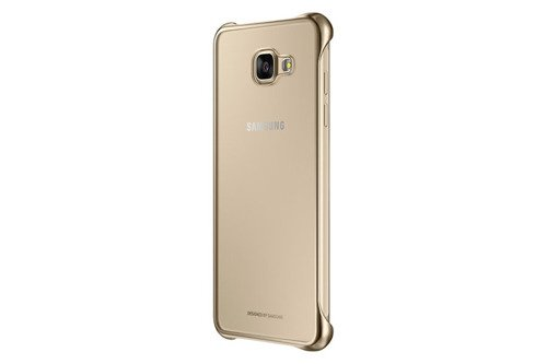 Samsung Etui Clear Cover Złote do Galaxy A5 (2016) EF-QA510CFEGWW