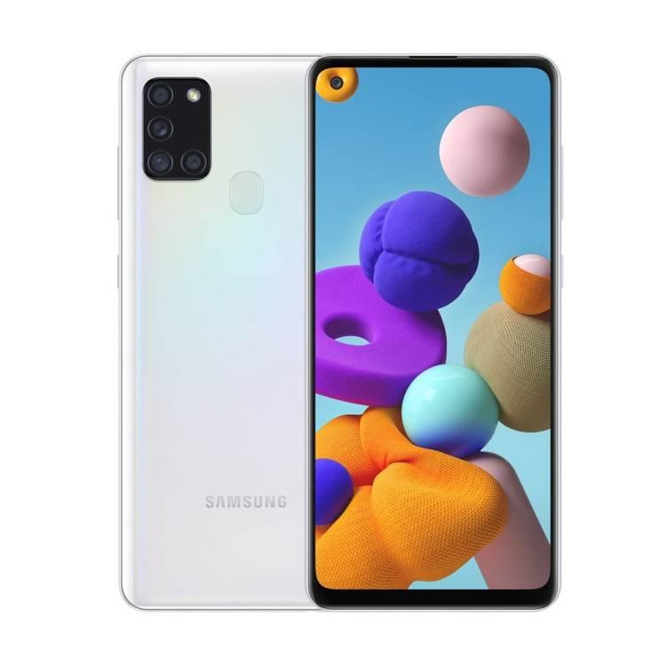 Samsung Galaxy A21s Dual SIM Biały 3/32GB (SM-A217FZWNEUE)