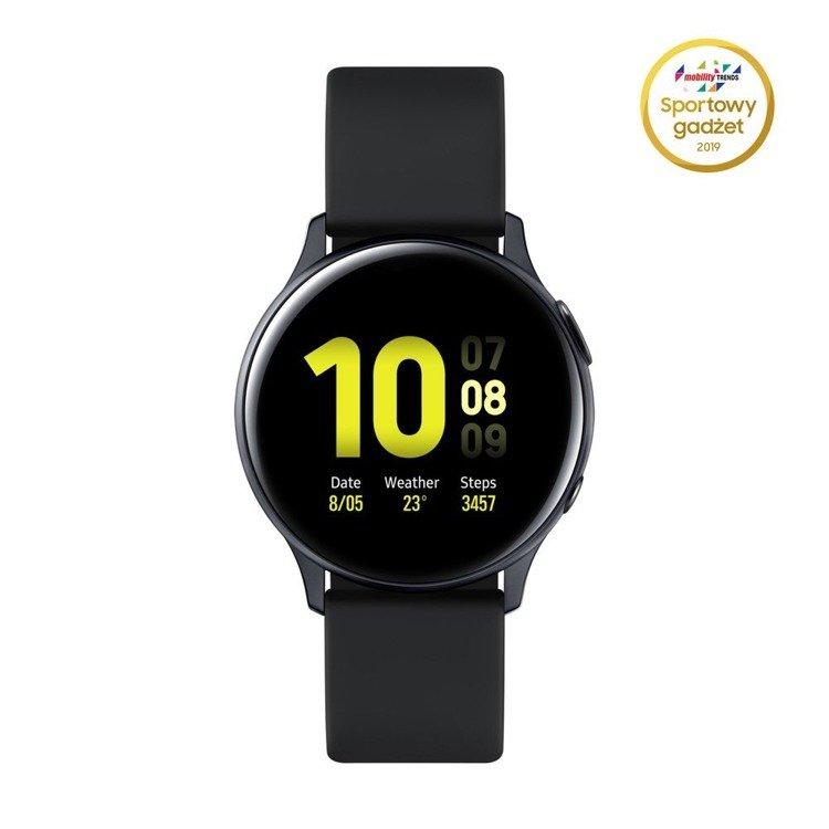 Samsung Galaxy Watch Active 2 Aluminium Czarny 44mm | SM-R820NZKAXEO