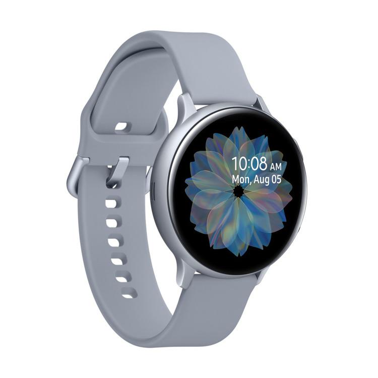 Samsung Galaxy Watch Active 2 Aluminium Srebrny 44mm   SM-R820NZSAXEO