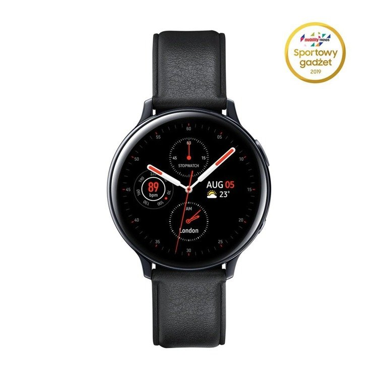 Samsung Galaxy Watch Active 2 Stal Czarny LTE 44mm   SM-R825FSKAXEO