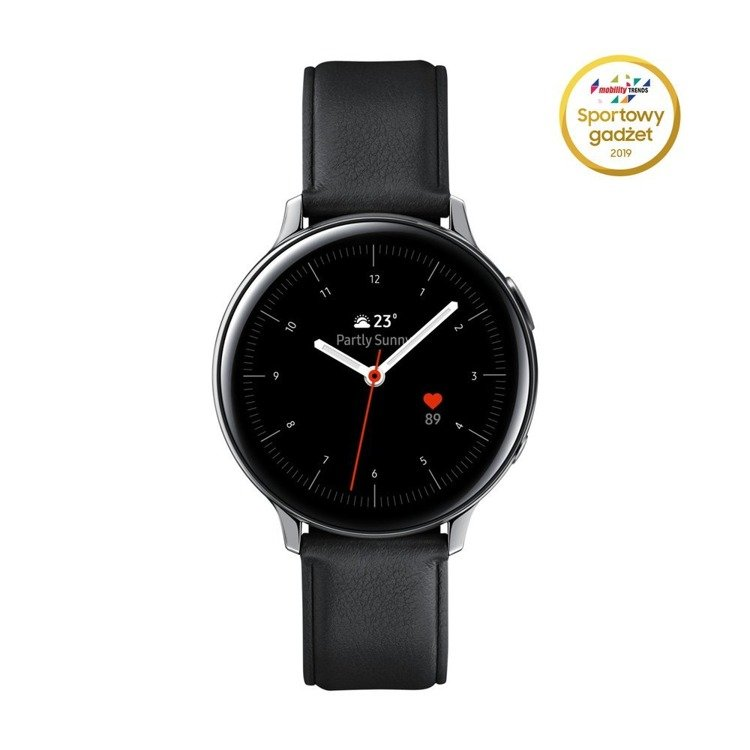 Samsung Galaxy Watch Active 2 Stal Srebrny 44mm | SM-R820NSSAXEO