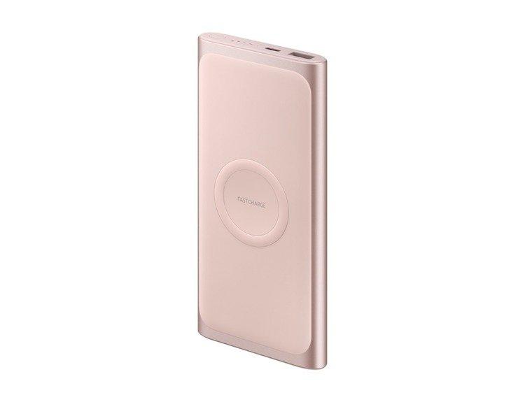 Samsung PowerBank z ładowaniem bezprzewodowym 10000mAh Różowy Fast Charge (EB-U1200CPEGWW)