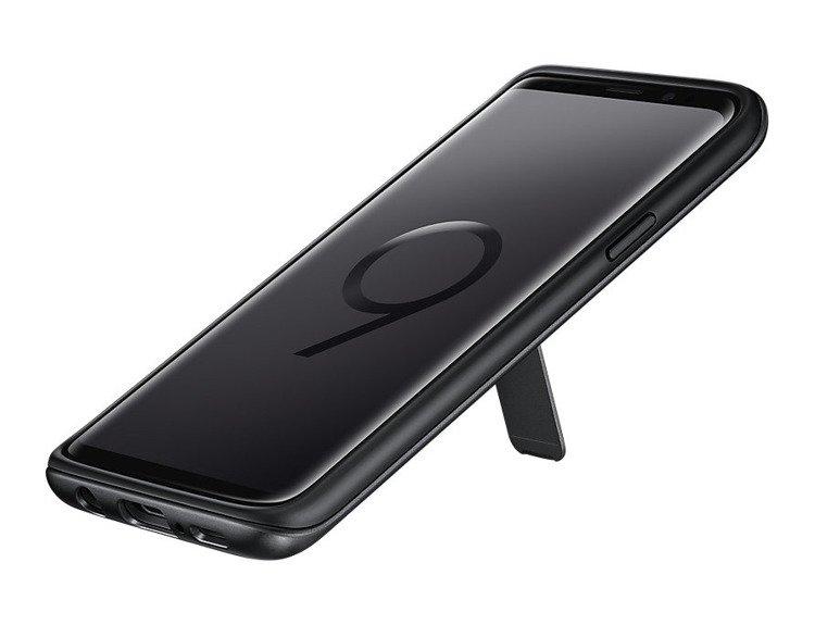 Samsung Protective Standing Cover do Galaxy S9 Czarne EF-RG960CBEGWW