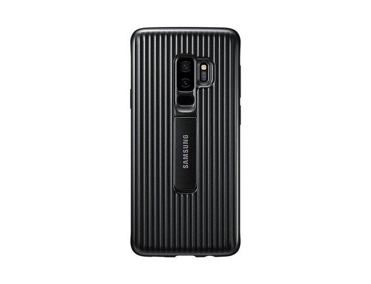 Samsung Protective Standing Cover do Galaxy S9+ Czarne EF-RG965CBEGWW