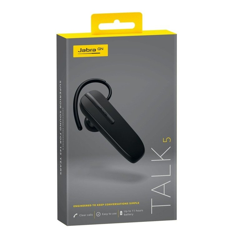 Słuchawka Bluetooth Jabra TALK 5 Czarna