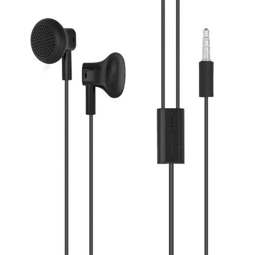 Słuchawki Stereo Microsoft WH-108 Czarne 3,5mm