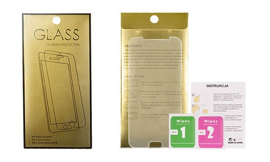 Szkło Hartowane Glass Gold do Nokia 7 Plus