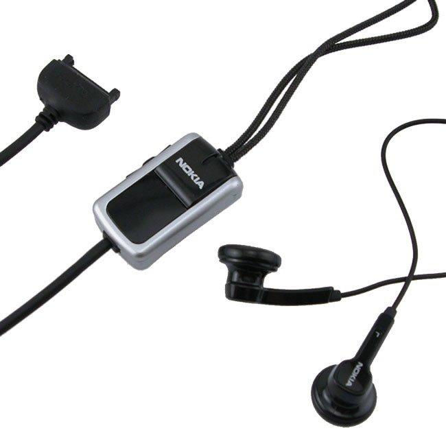 Zestaw słuchawkowy Stereo Nokia HS-23 Black | BULK